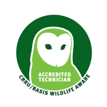 Isca Pest Control, Exeter, Devon is an CRRU Basis Wildlife Aware Accredited Technician