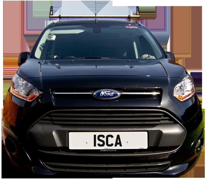 Isca Pest Control discreet van and service in Exeter & Devon