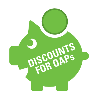 OAP discounts from Isca Pest Control, Exeter