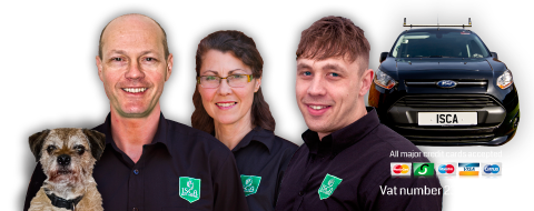 Isca Pest Control in Exeter Devon website header